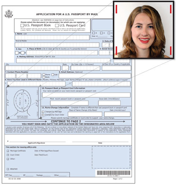 U S Passport Application Details